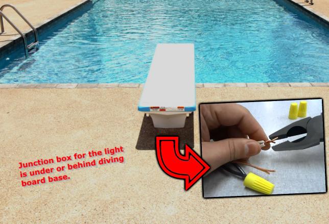 Pool Light Repair